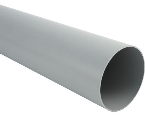 Tuyau de descente Marley diamètre nominal 105mm gris longueur: 1,00m