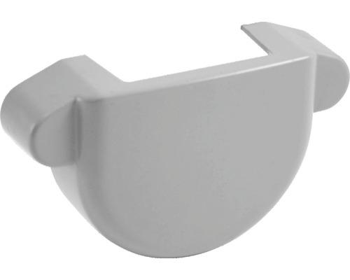 Fond de gouttière 75mm gris