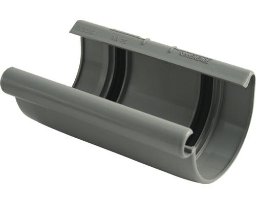 Coque de gouttière 75mm gris