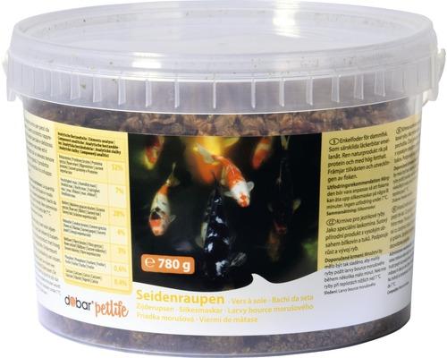 Nourriture pour poissons de bassin dobar vers à soie, 780g