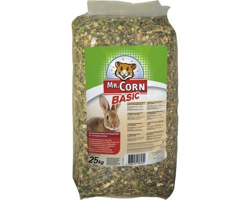 Nourriture pour lapin nain Mr. Corn, 25kg