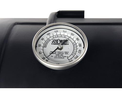 Thermomètre original en acier inoxydable Joe''s BBQ