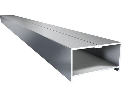 Soubassement aluminium 4000x64.5x35mm