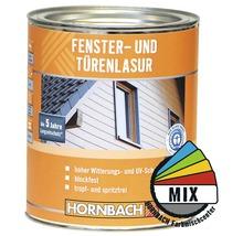 Lasure pour fenêtres et portes dans un coloris au choix 750 ml