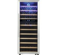 Weinkühlschrank PKM WKS72B BxHxT 49.5 x 127.5 x 58 cm Kühlteil 192 l für 73 Stück Flaschen-thumb-2