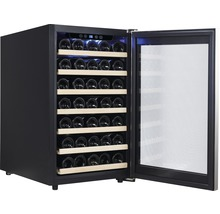 Weinkühlschrank PKM WKS52A BxHxT 49.5 x 84 x 58 cm Kühlteil 120 l für 52 Stück Flaschen-thumb-0