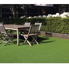 Gazon artificiel Wimbledon avec drainage vert mousse largeur 400cm (marchandise vendue au mètre)-thumb-1