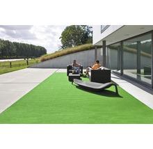 Gazon artificiel Wimbledon avec drainage vert mousse largeur 400cm (marchandise vendue au mètre)-thumb-2