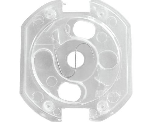 Cache-prises transparents 10 pièces à coller