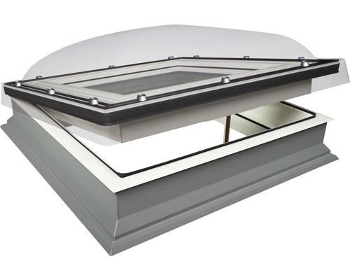 fen tre pour toit plat avec coupole fakro dmc c p2 60x60 cm hornbach luxembourg. Black Bedroom Furniture Sets. Home Design Ideas