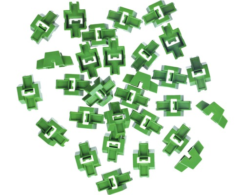 Capuchons de traction Hufa verts, pack de 100