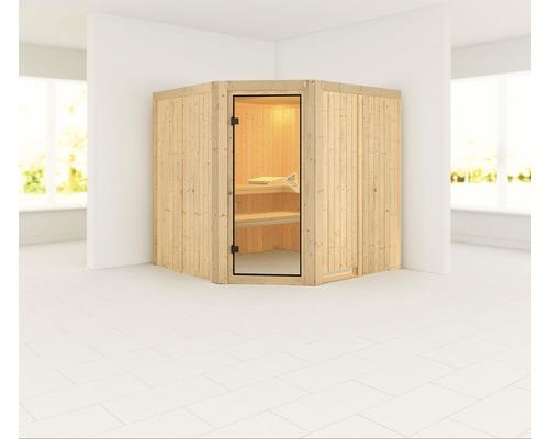 Sauna modulaire Karibu Nukura sans poêle ni frise de toit