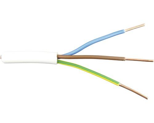 Câble sous gaine NYM-J 3x6 gris au mètre