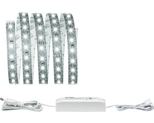 Kit de base Strip MaxLED 500 prêt à l''emploi 1,5 m gris argenté 825 lm 6500 K blanc naturel 106 LED non-revêtu 24V convient au Smart Home après extension