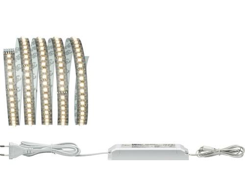 Kit de base Strip MaxLED 1000 prêt à l''emploi 1,5 m 1650 lm 2700 K blanc chaud 216 LED non-revêtu 24V convient au Smart Home après extension