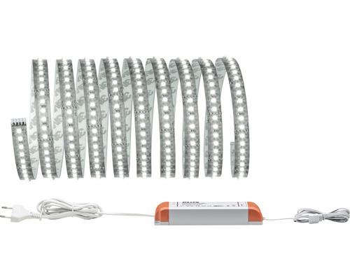Kit de base Strip MaxLED 1000 prêt à l''emploi 3,0 m 3300 lm 6500 K blanc naturel 432 LED non-revêtu 24V convient au Smart Home après extension