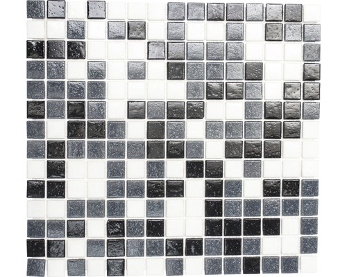 Mosaïque de verre A 125 mix, 30,5 x 32,5 cm