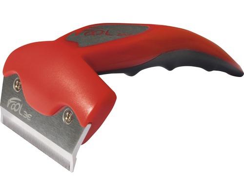 Étrille Follee One M complète, rouge