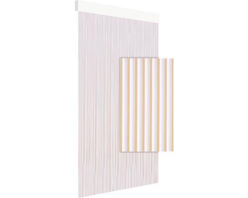 Rideau de porte DEGOR Art91 blanc 90x210 cm