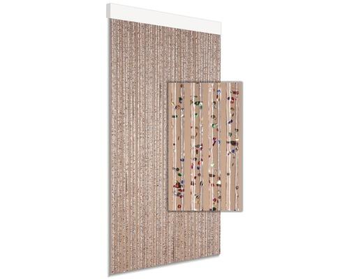 Rideau de porte DEGOR Art91 multicolore 90x210 cm