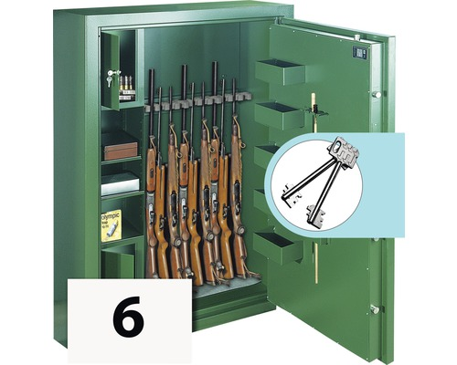 Armoire à fusils Rottner SPORT N6 DB PREMIUM