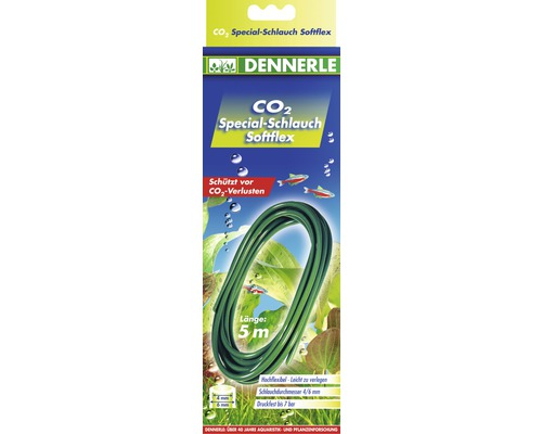 Tuyau à CO2 Dennerle 2m softflex