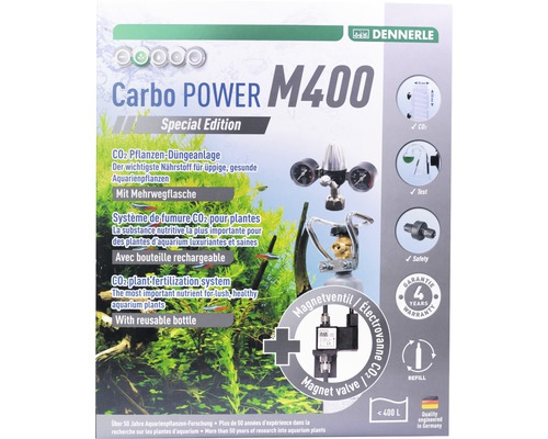 CO2 Düngeset DENNERLE Mehrweg Carbo POWER M400 Special Edition