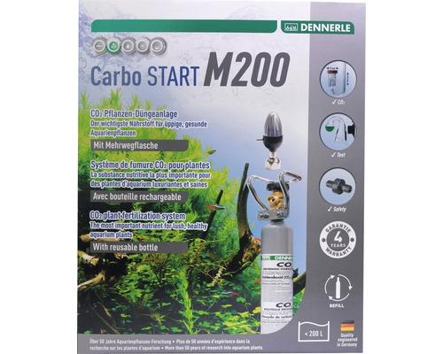 CO2 Kit d''engrais DENNERLE réutilisable Carbo START M200