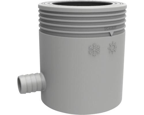 Collecteur d''eau de pluie avec filtre gris