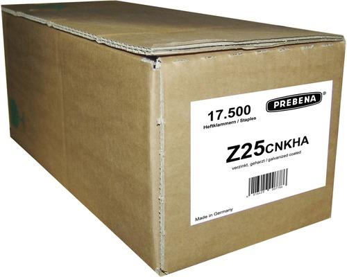 Agrafes Prebena Type Z25CNKHA 17 500 pcs