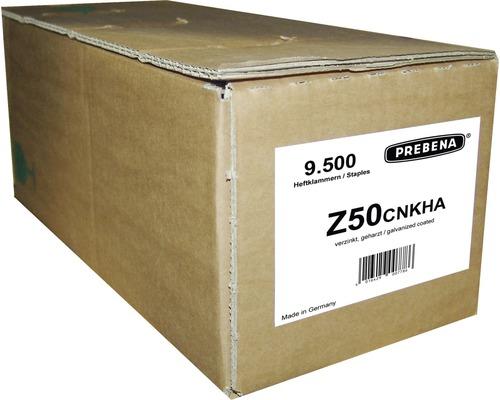 Agrafes Prebena Type Z50CNKHA 9 500 pcs