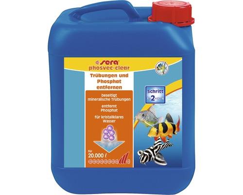 Schadstoffentferner sera phosvec-clear 5000 ml