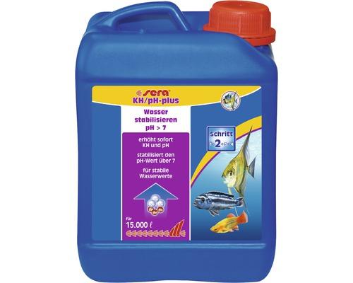 Wasserwertkorrektur sera KH/pH-plus 2500 ml