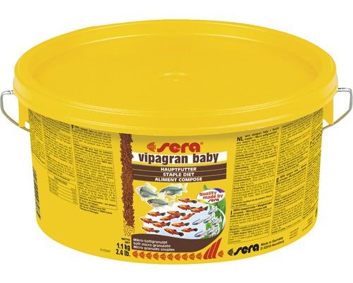 Nourriture granulée sera vipagran baby 1,1 kg
