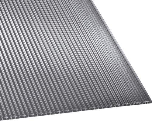 Polycarbonat Hohlkammerplatte klar 1500x700x4,5mm