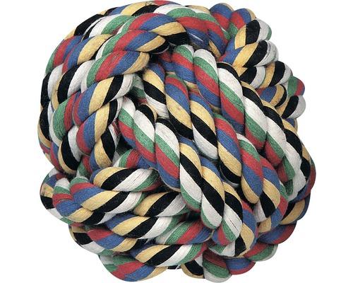 Jouet pour chien KARLIE balle en coton, Ø 8,5 cm