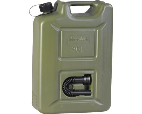 Bidon de carburant PROFI 20 L Hünersdorff vert