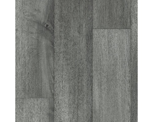 PVC Kasos Eiche silber metallic 400 cm breit (Meterware)