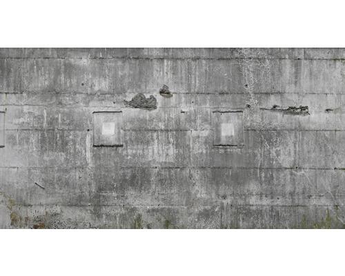Papier peint intissé 445503 impression numérique Factory IV aspect pierre gris 300 x 558 cm