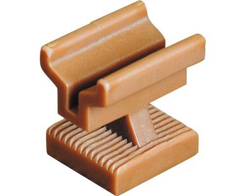 Patte de montage Konsta brun, 25 unités