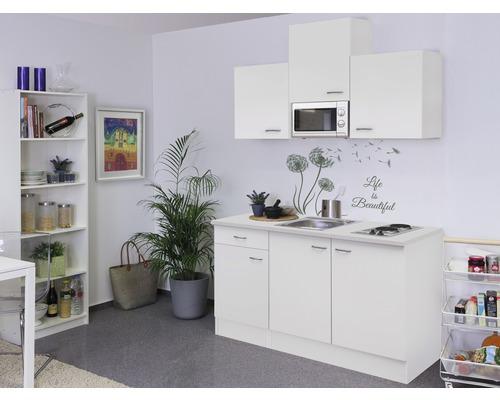 Kitchenette Wito 150 cm blanc 00007958