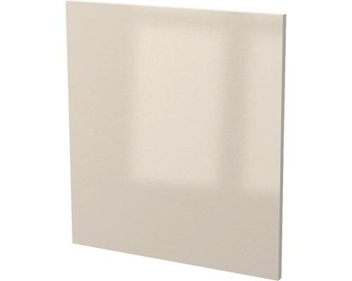 Façade pour lave-vaisselle partiellement encastré Nepal cachemire brillant (lxHxp) 60x86x60 cm