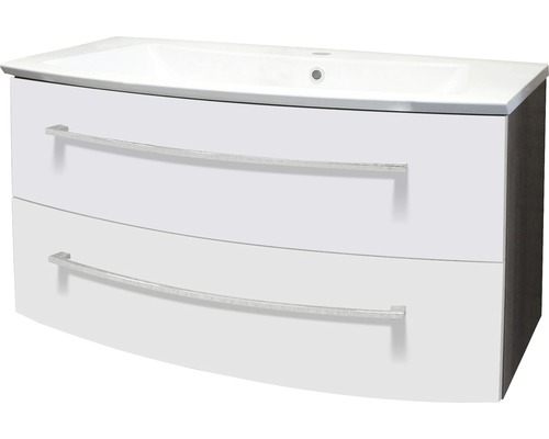 Sous-vasque Fackelmann blanc haute brillance 99x52cm-0