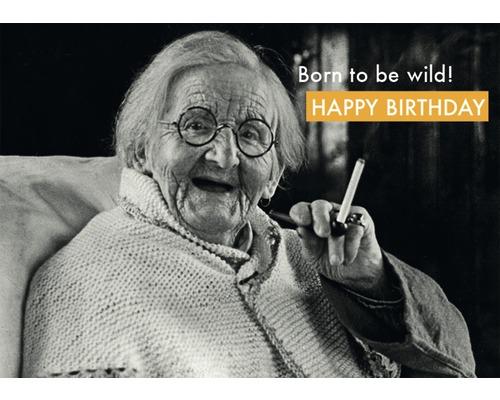 Carte postale Born To Be Wild 10.5x14.8 cm
