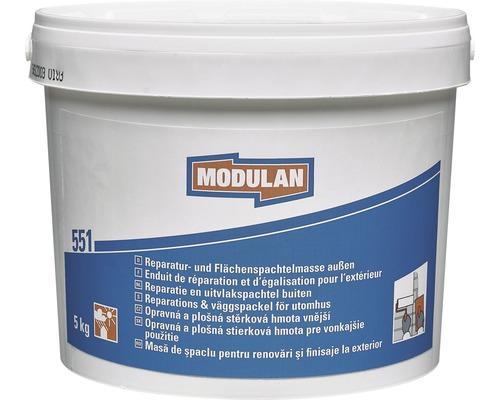 Enduit de réparation / enduit de surface MODULAN 551 pour l''extérieur 5kg