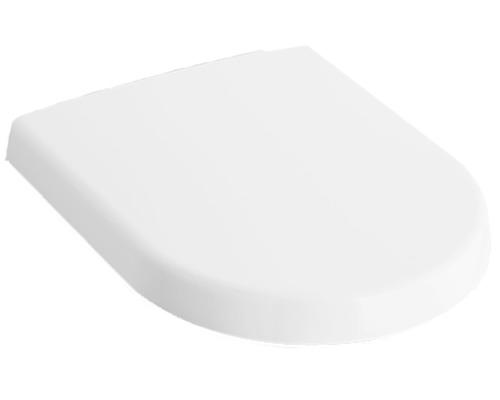 Abattant WC Villeroy & Boch Subway 2.0 9M68S101 blanc facilement amovible avec système d''abaissement automatique