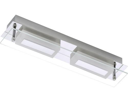 LED Bad Deckenleuchte Surf chrom mit Leuchtmittel 2-flammig ...