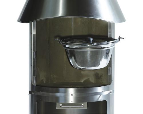 Pot à ratatouille / vin chaud pour barbecue cheminée Buschbeck Auckland 6 litres