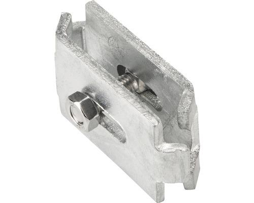 Raccord d''angle 6 x 4 cm, 2 unités, galvanisées à chaud