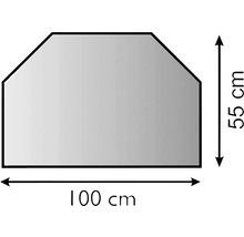 Dalle de sol métal hexagonale 100x55 cm-thumb-3